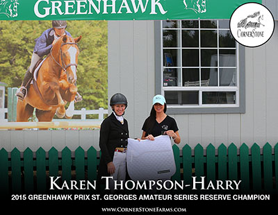 Karen Thompson-Harry - PRIX ST. GEORGES CORNERSTONE DRESSAGE