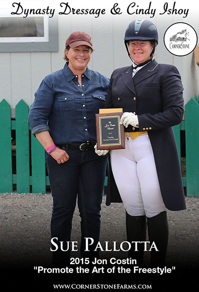 2015 Jon Costin Freestyle Award - Sue Pallotta